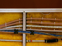 Maxcraft prides itself on precision and quality of workmanship. Routing cables can be a work of art