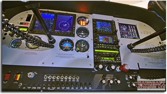 Glass Flight Instrument Panel